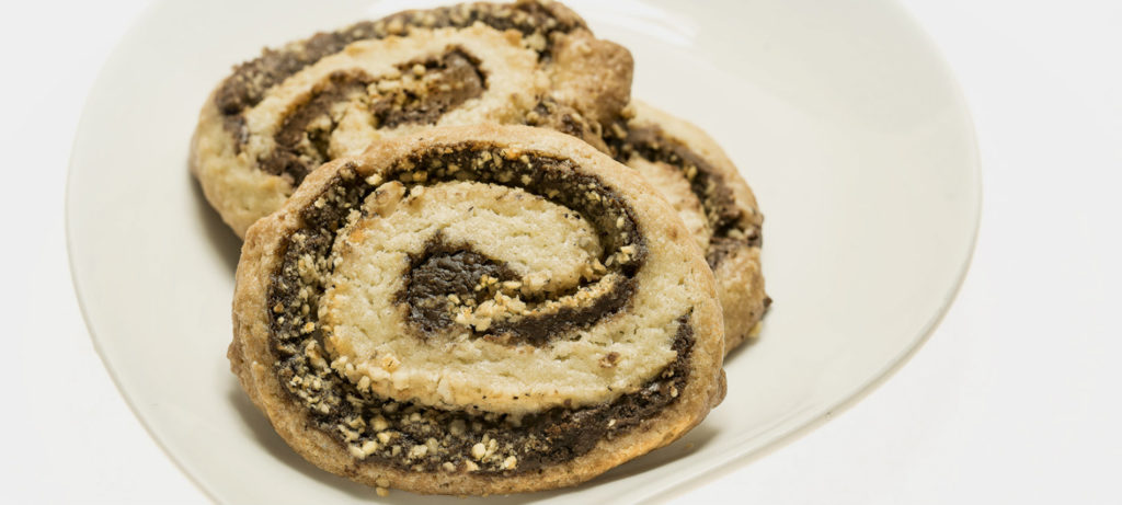 Chocolate Hazelnut Pinwheel COokies