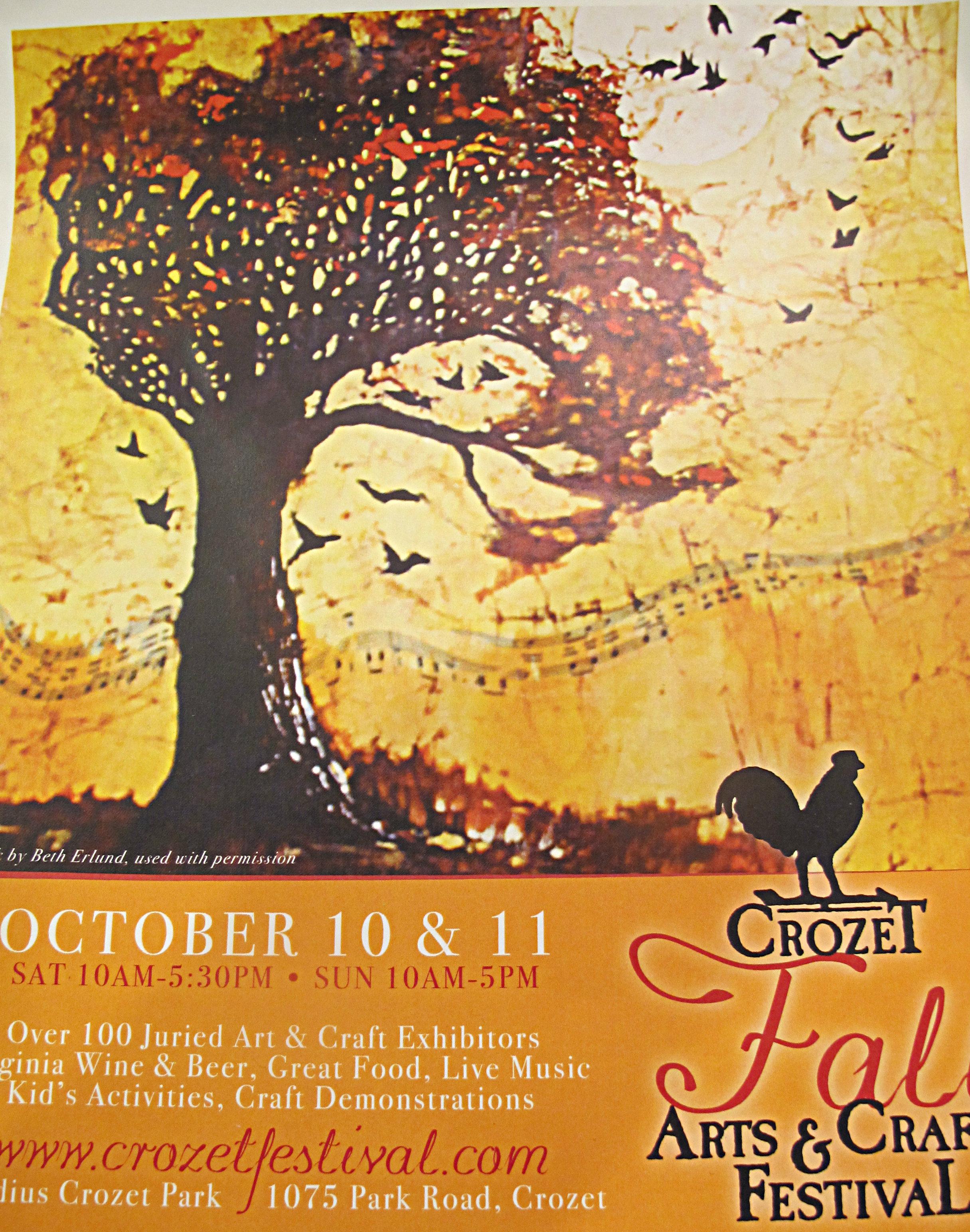 Crozet Arts Poster